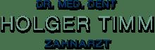 Dr. Holger Timm – Zahnarzt in Hamburg Langenhorn Logo